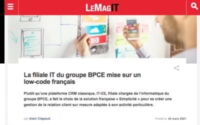 La filiale IT de Groupe BPCE une solution CRM sur mesure qui répond à ses besoins très spécifiques